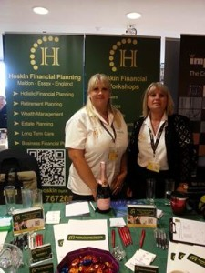 Claire and Debbie at The Maldon Showcase