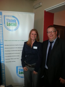 Paul Hoskin and Ruth Smith at The Hoskin Lunch