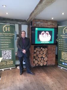Paul Hoskin at The OAKhouse, Maldon Business,